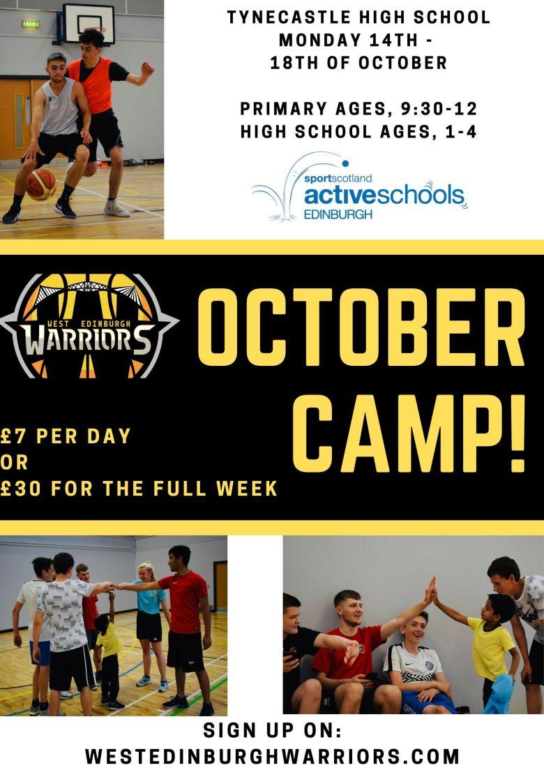 October camp!